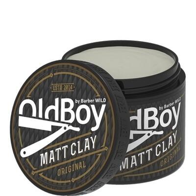 Barber WILD OldBoy  - Матирующая глина Matt clay, 100 g.