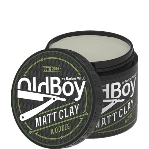 Barber WILD OldBoy  - Матирующая глина matt clay Woodie, 100g