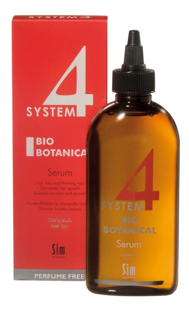 System 4 - Сыворотка для волос Sim Sensitive Bio Botanical Serum, 200 мл