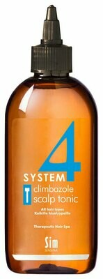 System 4 - Тоник для волос Sim Sensitive Therapeutic Climbazole Scalp T, 200 мл