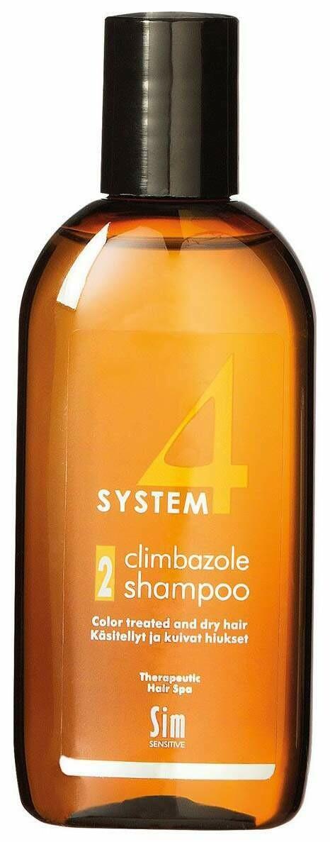 System 4 -  Шампунь Sim Sensitive №2 Для нормальных и склонных к жирности волос, 215 мл