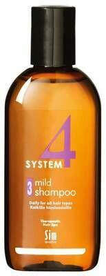 System 4 -  Шампунь Sim Sensitive №3 Для чувствительной кожи головы, 215 мл