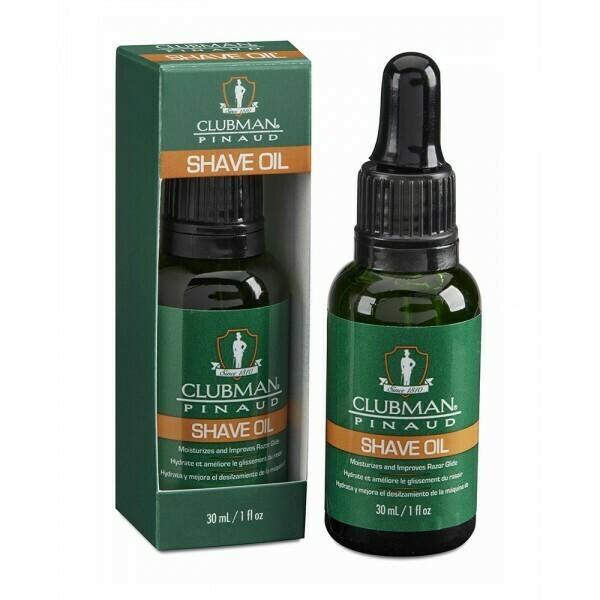 Clubman Shave Oil - Натуральное масло для бритья 30 мл