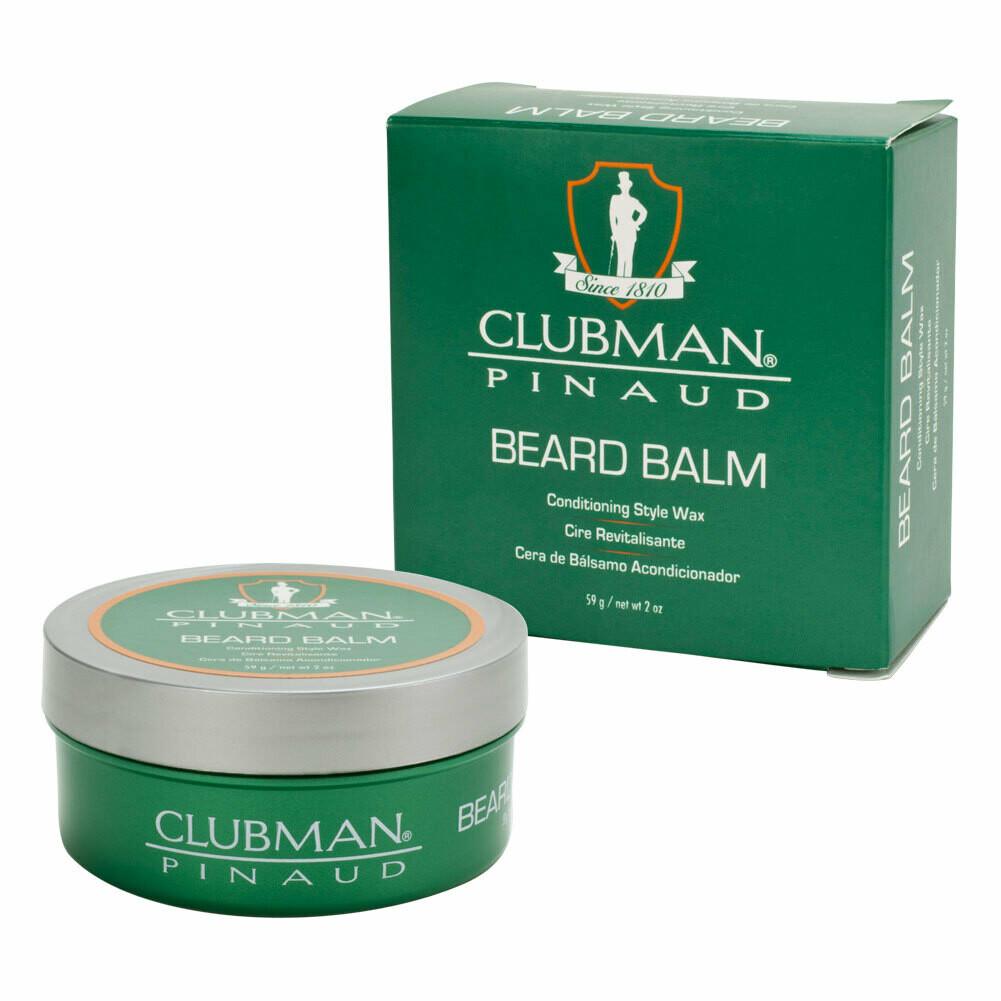 Clubman Beard Balm - Воск-бальзам для бороды (стайлинг и уход) 59 гр