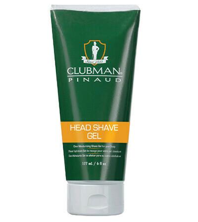 Clubman Head Shave Gel - Увлажняющий гель для бритья 177 мл