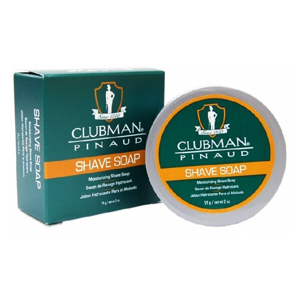 Clubman Shave Soap - Натуральное мыло для бритья 59 гр