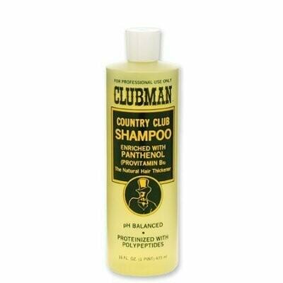Clubman Country Club Shampoo -Восстанавливающий шампунь с провитамином В5, 480 мл (L)
