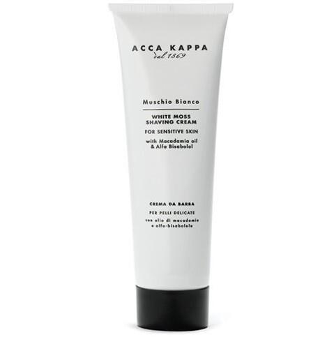 Acca Kappa Muschio Bianco Shaving Cream - Крем для бритья 125 мл