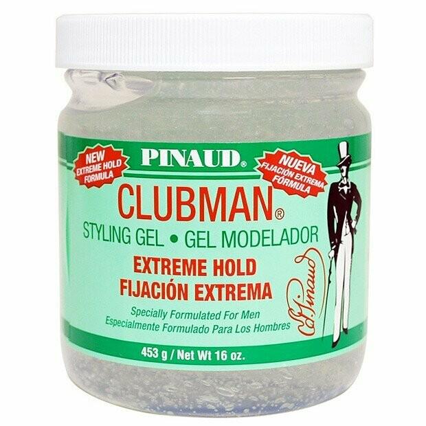 Clubman Extreme Hold Styling Gel - Гель для укладки супер-сильной фиксации 480 мл