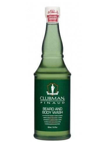 ClubMan Reserve Beard and Body Wash - гель для душа и мытья бороды 430 мл