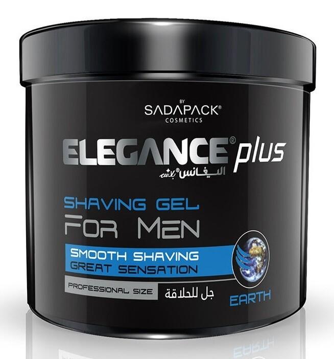 Elegance Plus Shaving Gel Earth - Гель для бритья 1000 мл