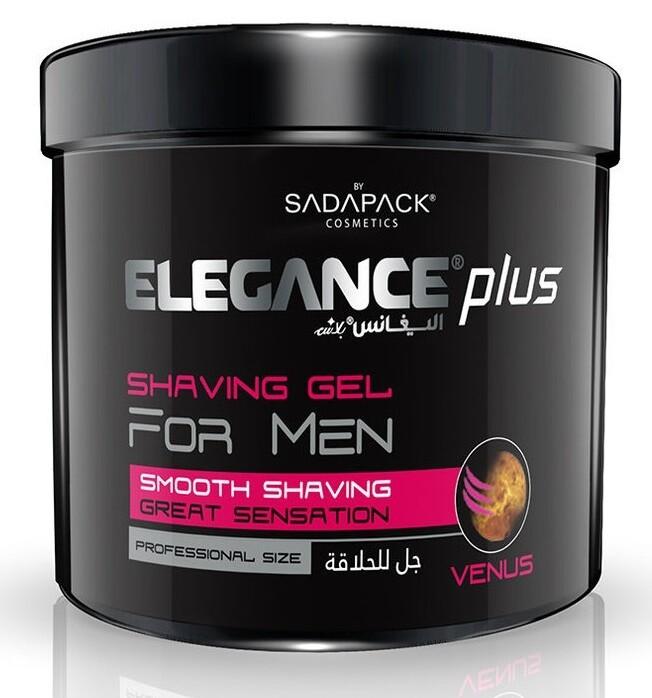 Elegance Plus Shaving Gel Venus - Гель для бритья 1000 мл