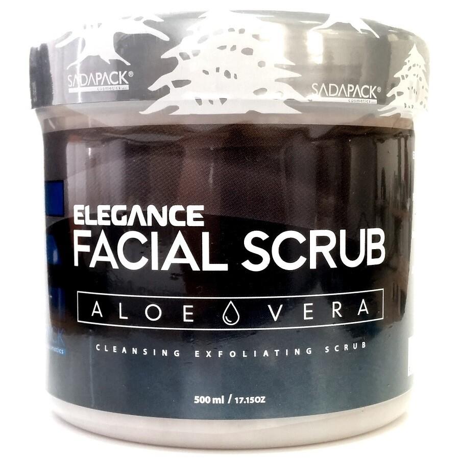 Elegance Facial Scrub Aloe Vera Renovating - Скраб для лица Алое Вера Восстанавливающий 500 мл