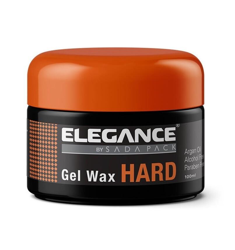 Elegance Hard Hair Gel Wax - Сильный гель-воск с аргановым маслом для волос 100 мл