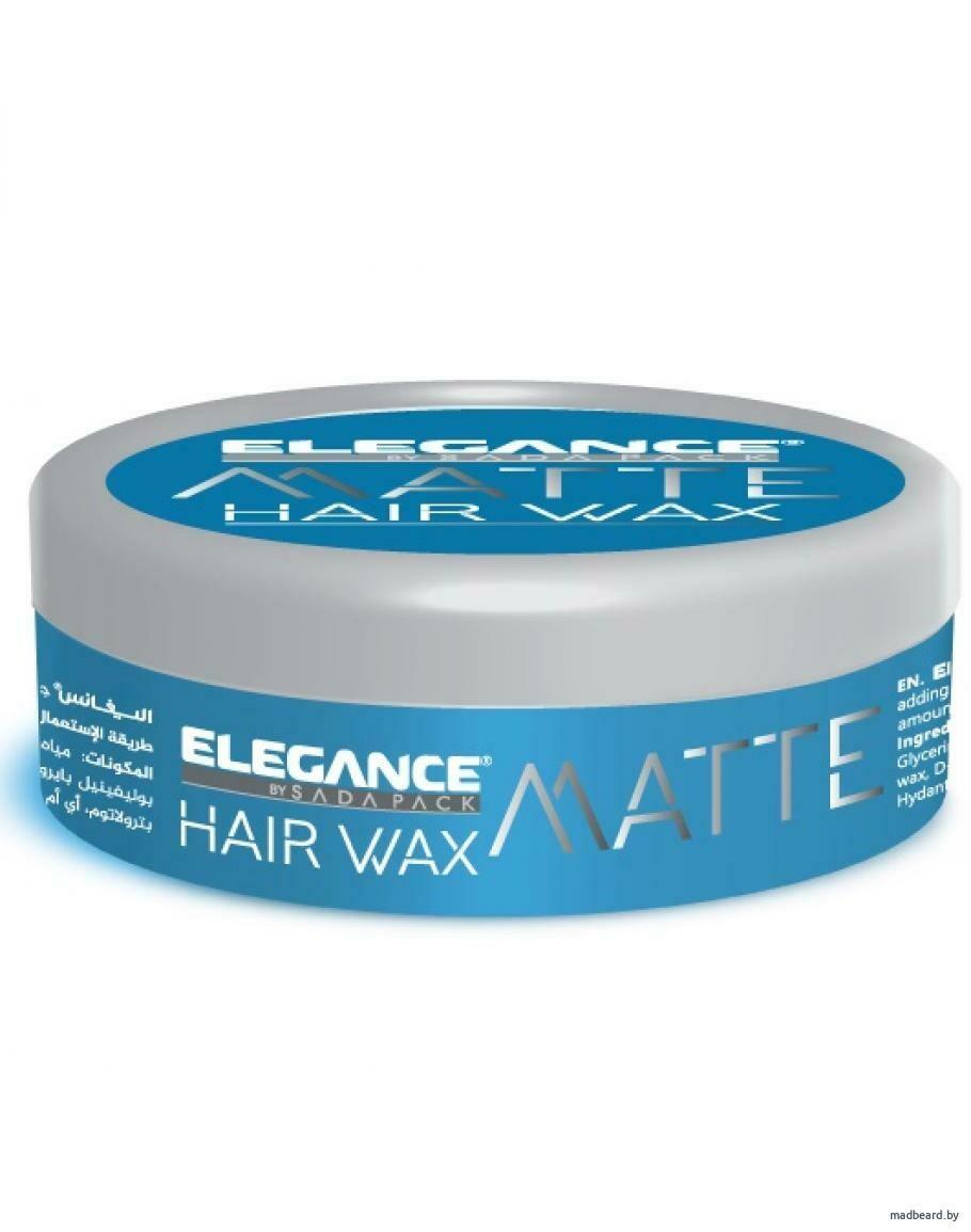 ELEGANCE PLUS MATTE WAX - матовый воск для укладки волос 140мл