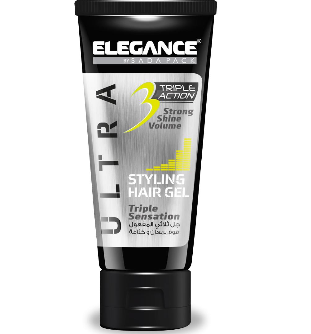 Elegance Triple Action Gel Yellow - Гель для волос тройного действия 150 мл