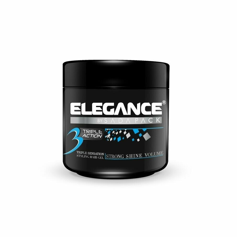 Elegance Triple Action Gel Blue - Гель тройного действия 250 мл