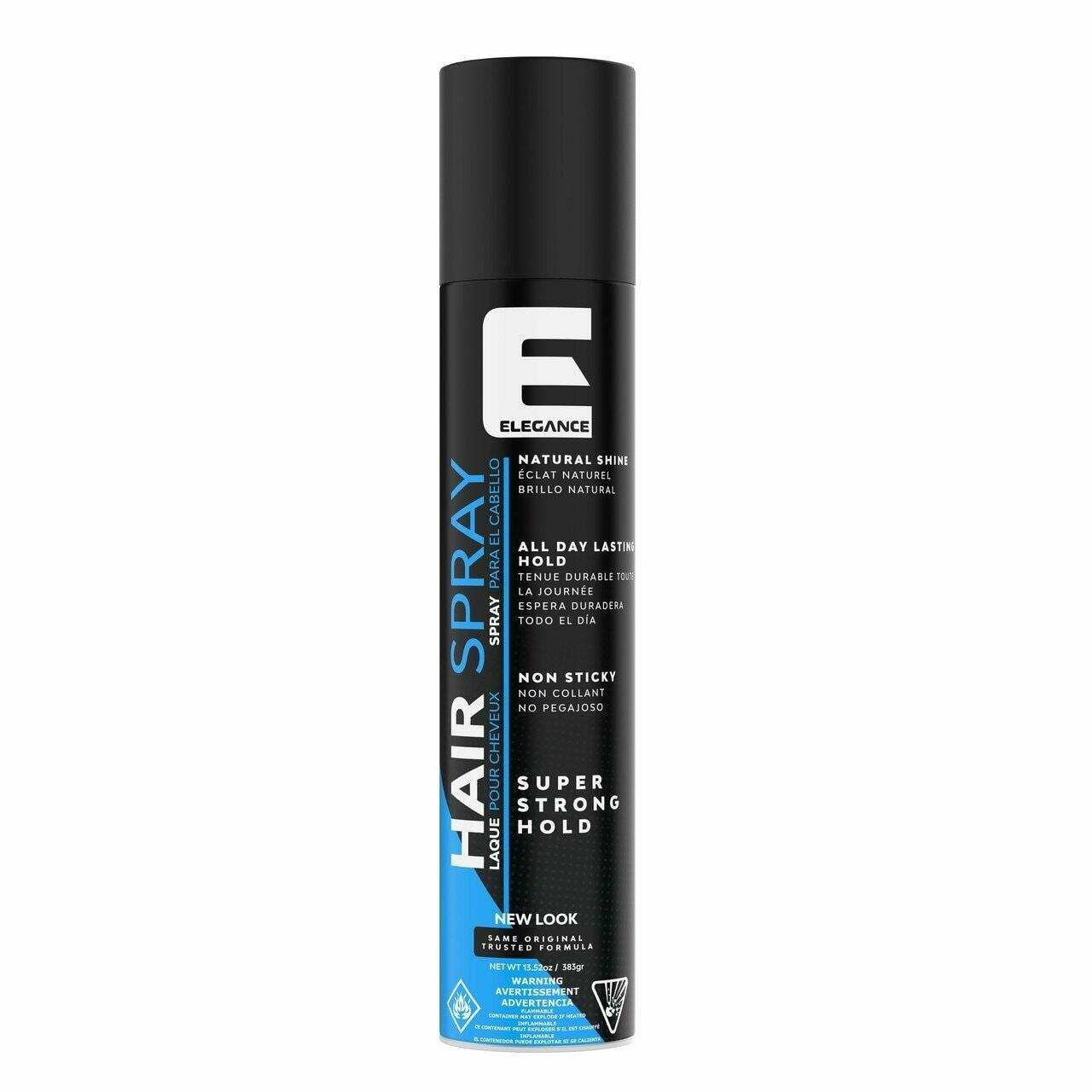 Elegance Plus Super Strong Hold Hair Spray - Лак для волос сверх сильной фиксации 400 мл