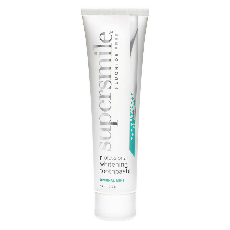 Supersmile - Отбеливающая зубная паста Fluoride Free (Мята без фтора) 119 г