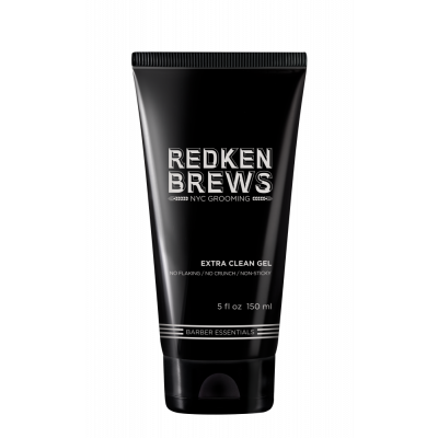 Redken Brews Extra clean - Гель для укладки 150 мл