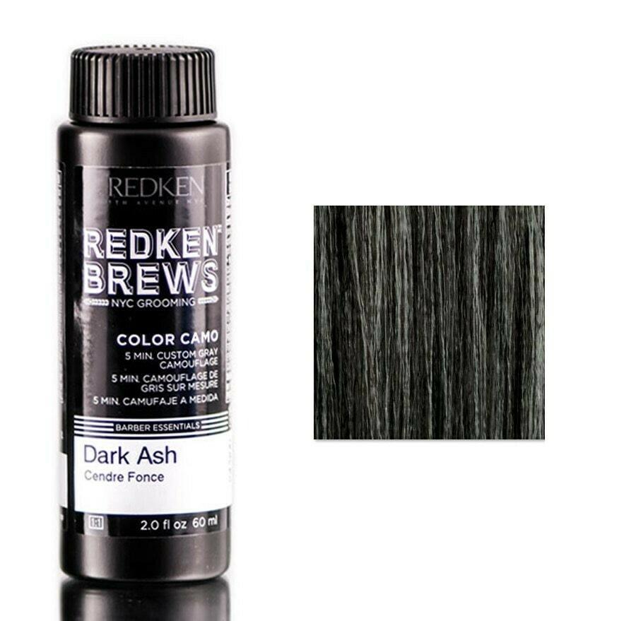 Redken Brews Dark Ash - Камуфляж Седины Темный Пепельный 60 мл
