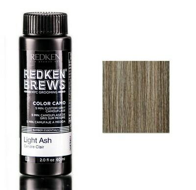 Redken Brews Light Ash - Камуфляж Седины Светлый Пепельный 60 мл