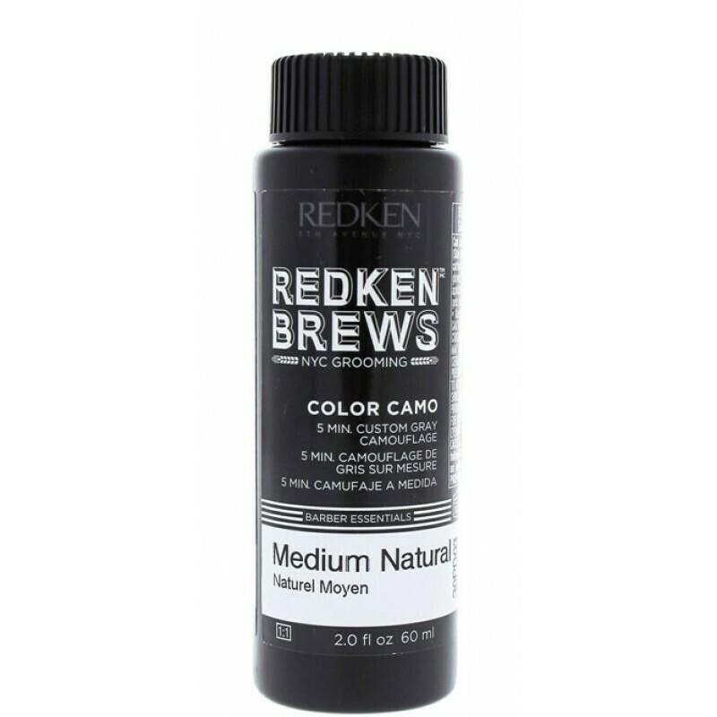 Redken Brews Medium Natural - Камуфляж Седины Средний Натуральный 60 мл