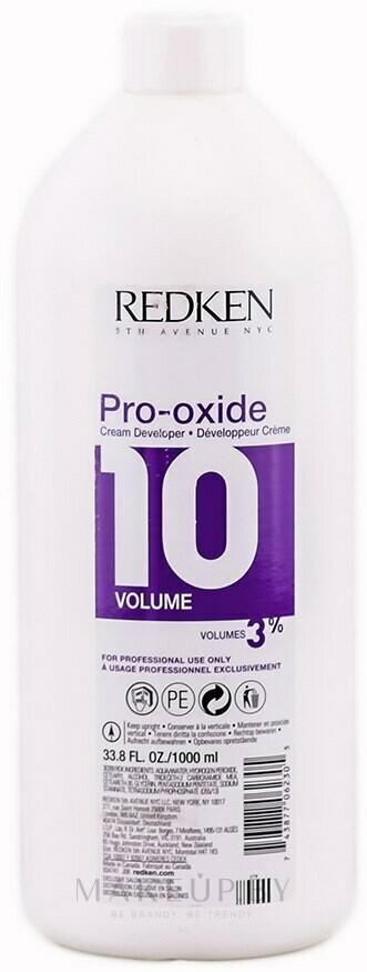 Redken Pro-oxide 10 - Крем-проявитель для краски и осветл.препаратов (3%)  1000мл.