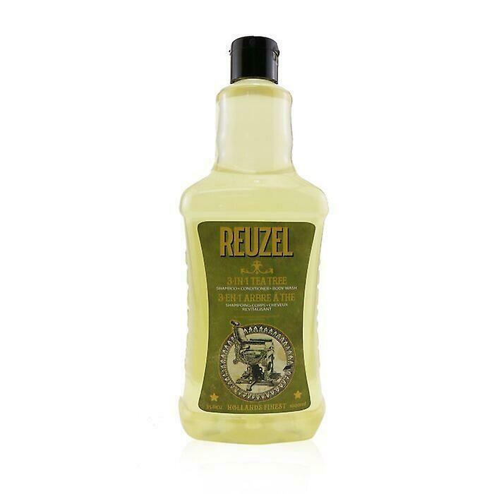 Reuzel 3 in 1 Tea Tree Shampoo - Шампунь для волос Чайное дерево 1000 мл