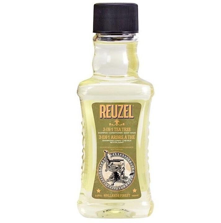 Reuzel 3 in 1 Tea Tree Shampoo - Шампунь для волос Чайное дерево 100 мл