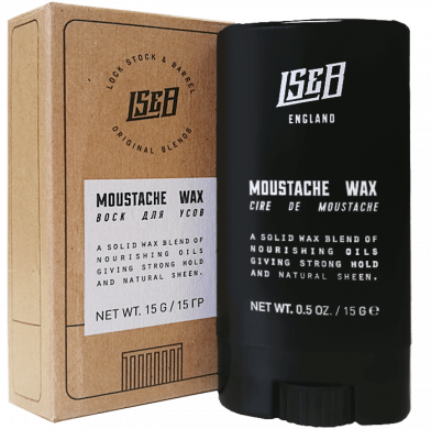 Lock Stock & Barrel  MOUSTACHE WAX / Воск дл усов 15гр