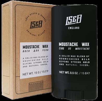 Lock Stock & Barrel  MOUSTACHE WAX / Воск дл усов 15гр