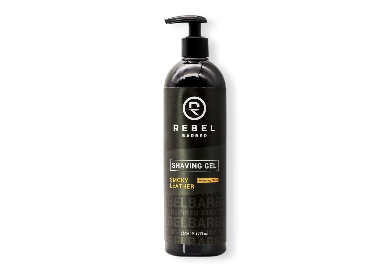 REBEL BARBER Smoky Leather - Гель для бритья 500мл