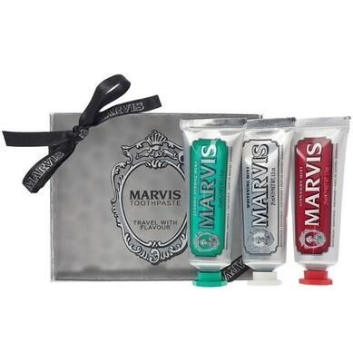 Marvis Gift Set - Набор из 3 зубных паст по 25 мл