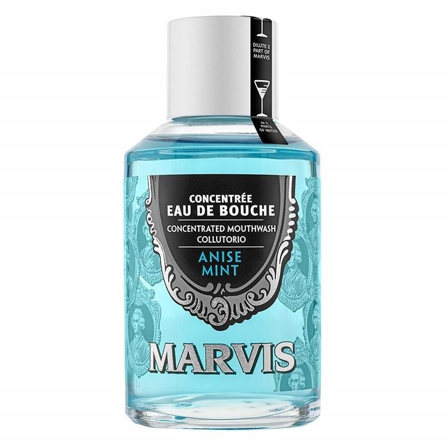 Marvis Mouthwash Anise Mint - Ополаскиватель концентрат для полости рта Анис 120 мл