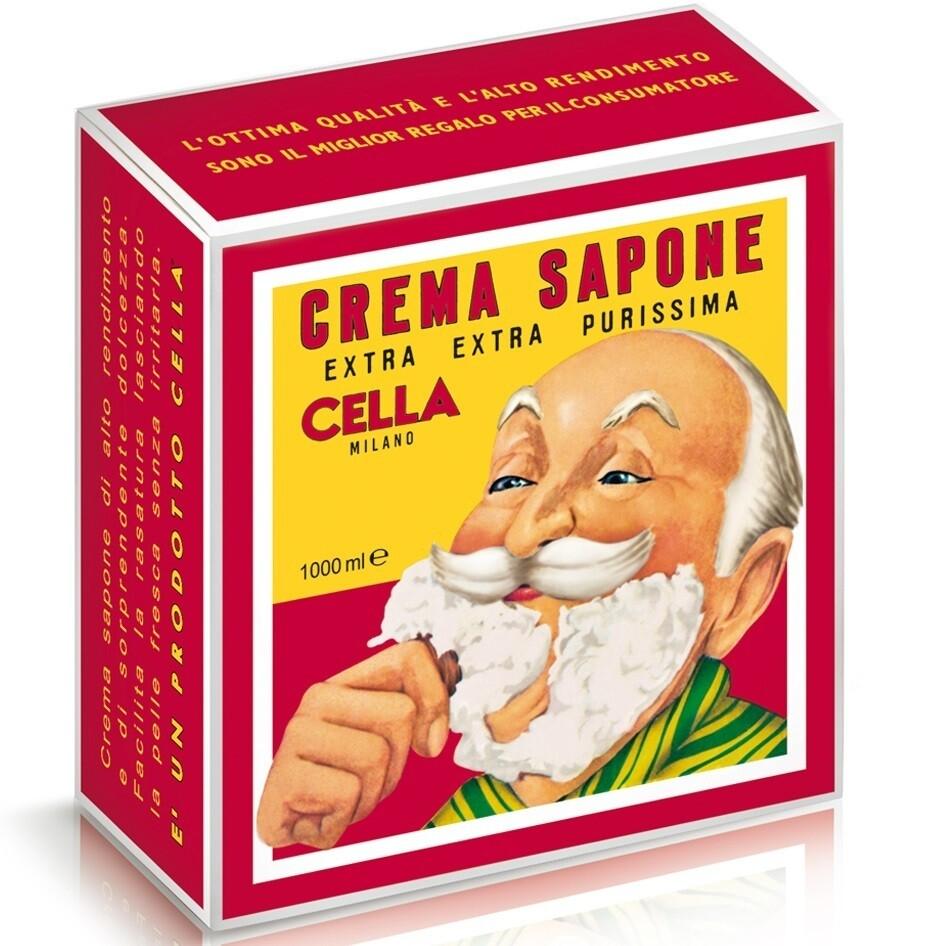 Cella Shaving Cream - Мыло крем для бритья 1000 гр