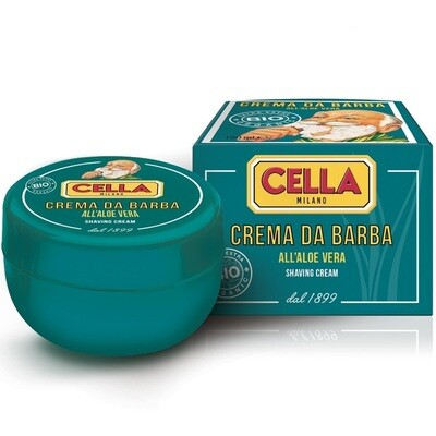 Cella Organic Shaving Cream - Крем для бритья в чаше 150 мл