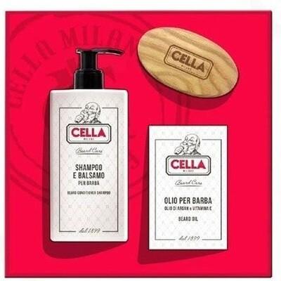 Cella Beard Care Set - Подарочный набор для ухода за бородой