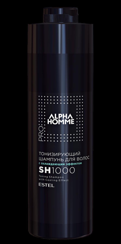 ESTEL ALPHA HOMME PRO - Шампунь для Волос Тонизирующий 1000 мл