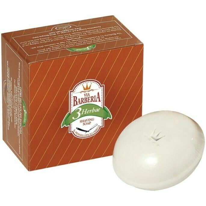 Via Barberia Herbae Shaving Soap - Мыло для Бритья 150 гр
