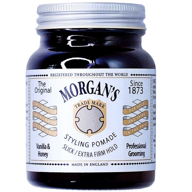 Morgan's Vanilla & Honey Pomade - Помада для укладки Экстра сильной фиксации без блеска 50гр