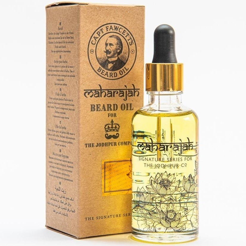 Captain Fawcett Maharajah Beard Oil - Масло для бороды 50 мл