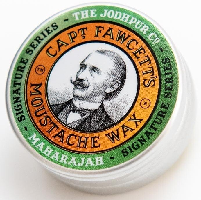 Captain Fawcett Maharajah Moustache Wax - Воск для усов 15 мл