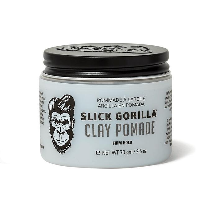Slick Gorilla Clay Pomade, Глина для укладки, сильная  фиксация волос, 70 гр