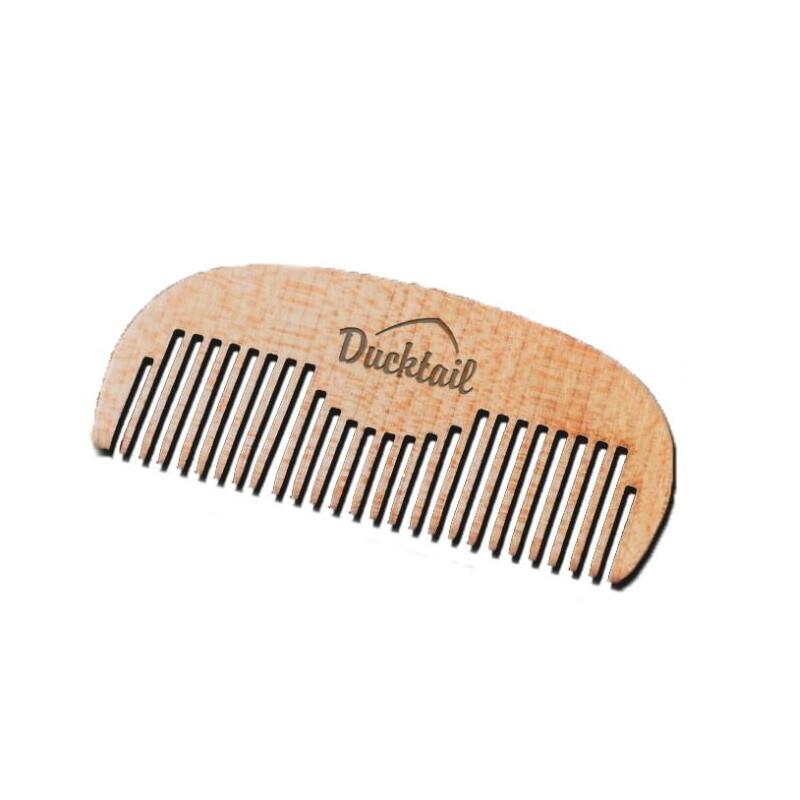 DuckTail Wood Brash - Расческа для усов и бороды