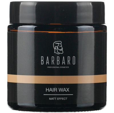 Barbaro Hair Wax Matt Effect - Матовый воск для укладки 100 гр