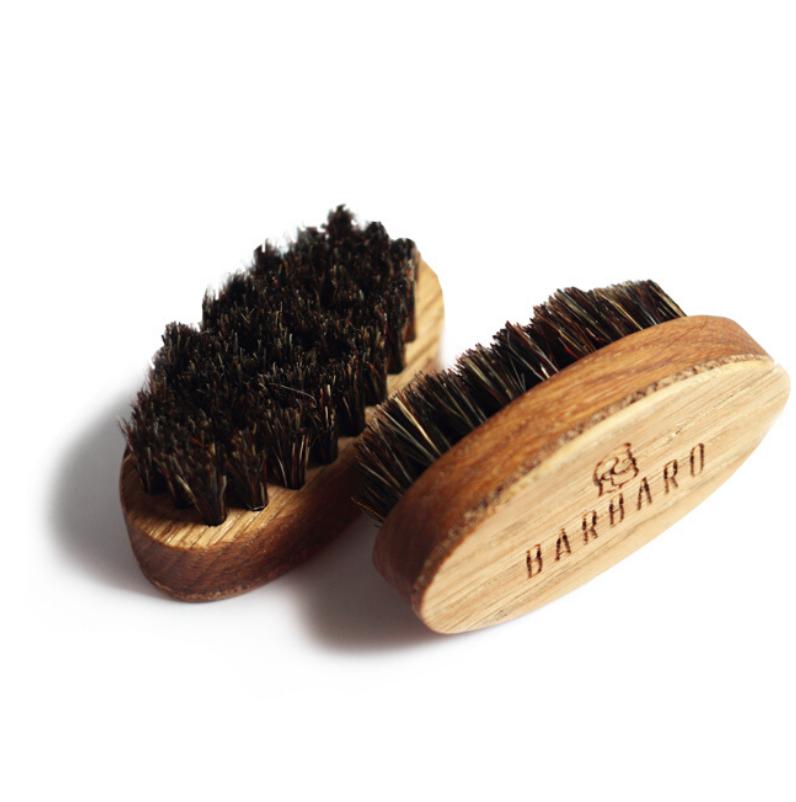 Barbaro Beard Brush - Щетка для бороды овальная