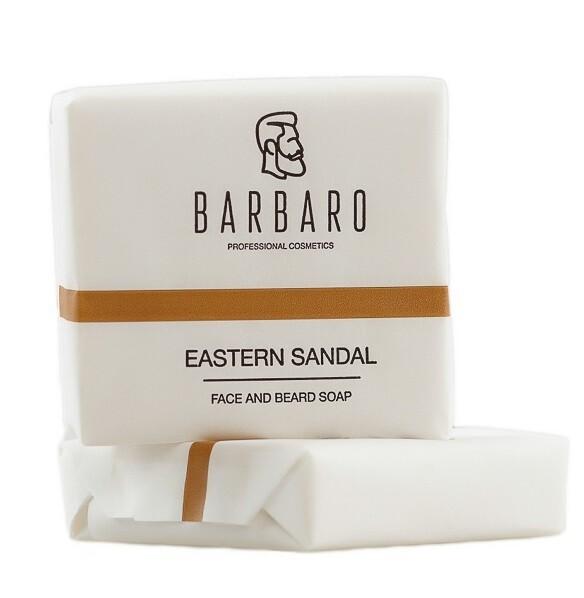 Barbaro Face & Beard Soap - Мыло для лица и бороды 90 гр