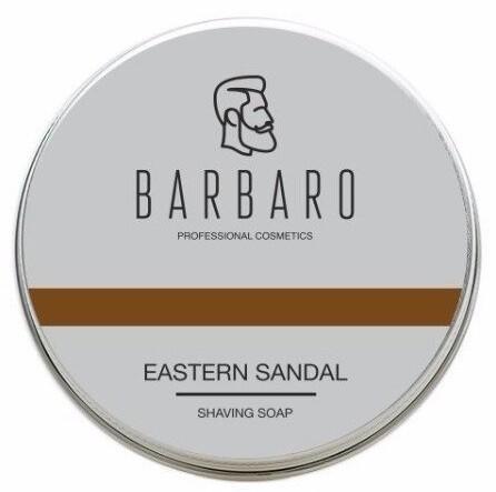 Barbaro Eastern sandal - Мыло для бритья Восточный сандал 80 гр