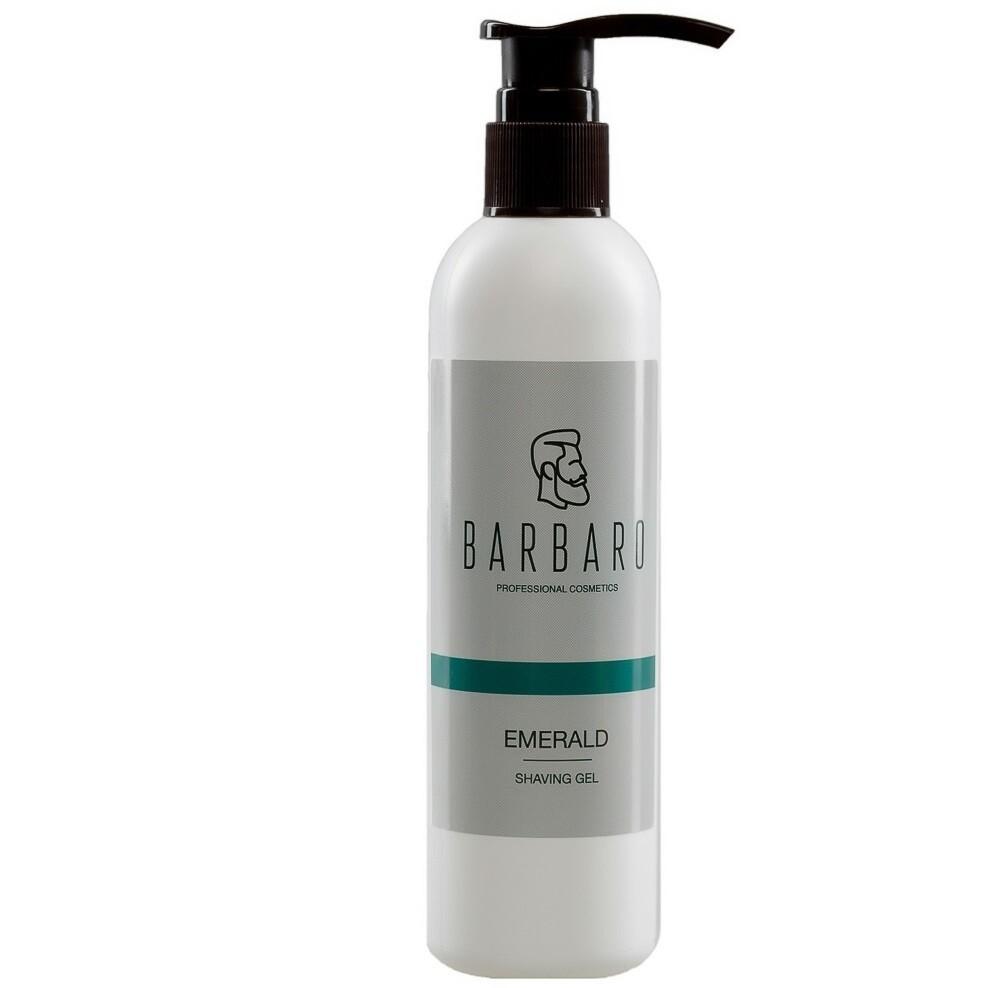 Barbaro Shaving Gel Emerald - Непенящийся прозрачный гель для бритья 200 мл